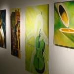 Gruppenausstellung Bilderwand