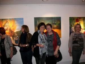 Künstlerfreundschaft - Silvia Freund-Herku
