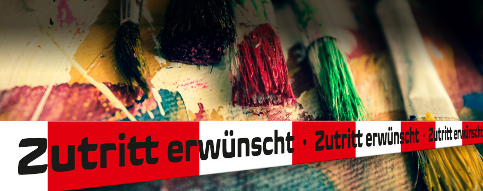 Neanderland Tatorte - Silvia Freund, Malerei